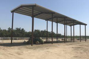 Hay Storage Barn – Phase I Complete
